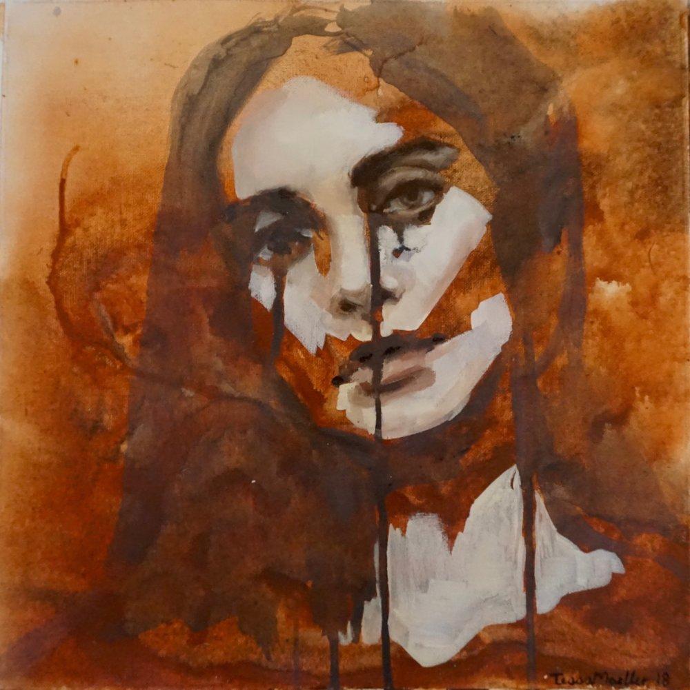 $530  2018  12 x 12  Amber_Acrylic & Oil on Canvas.jpg