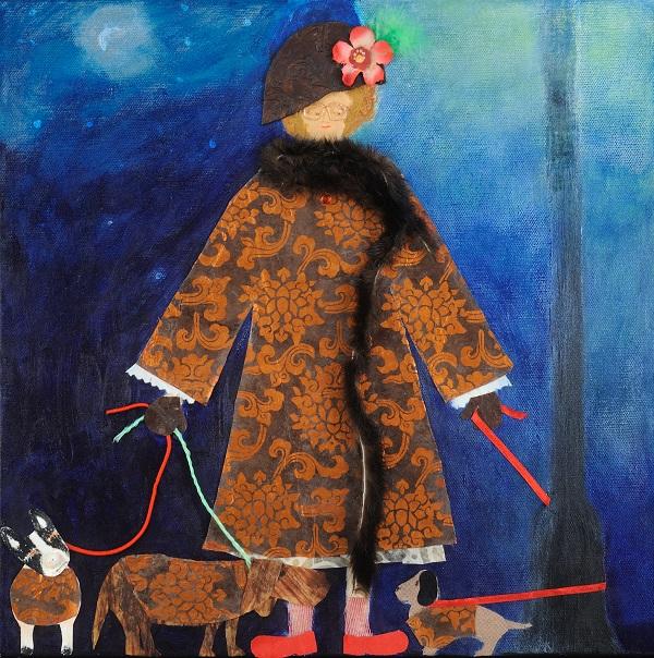 """Henry, Not AGAIN"" by Touchstone Gallery's Jill Brantley"
