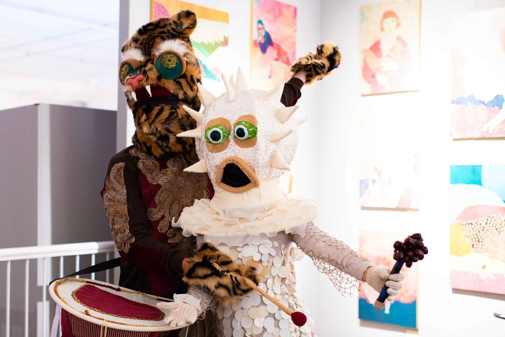 Young Collectors' Ice Cream Social - Friday, November 2, 20187PM - 10PMArtisan scoops by Trickling Springs Creamery and charming performance art augment the art-discovering experience.
