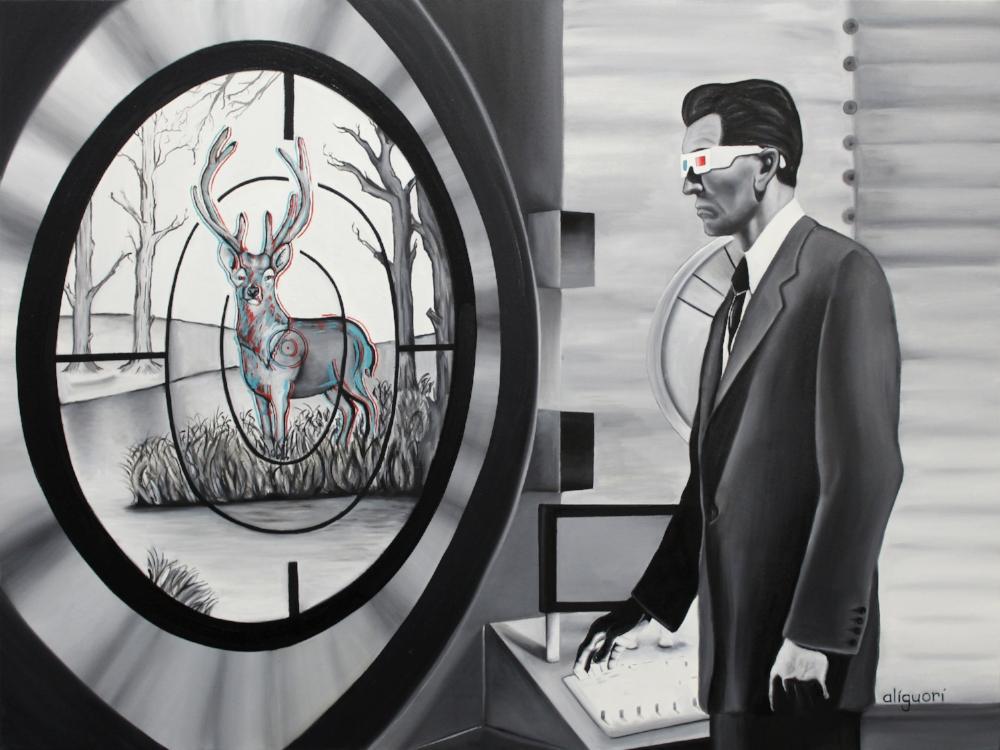ALIGUORI - _3Deer Mentional_ - 30_x36_ - Oil on Canvas - 2017 - $4,000.jpg