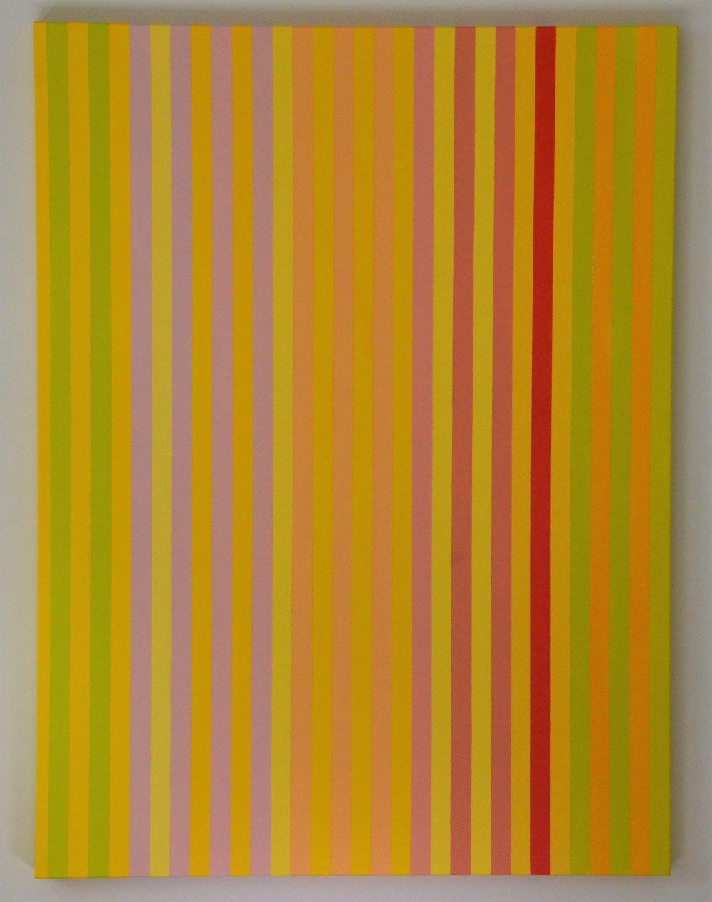 Christine Ruksenas-Burton Linear Equation #3, 30 X 40 Acrylic on canvas, 2018 $1,200 .JPG