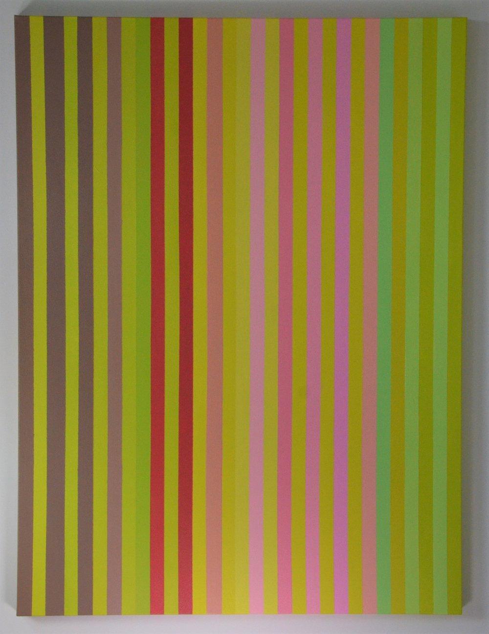 Christine Ruksenas-Burton Linear Equation #4, 30 X 40 Acrylic on canvas, 2018 $1,200 .JPG