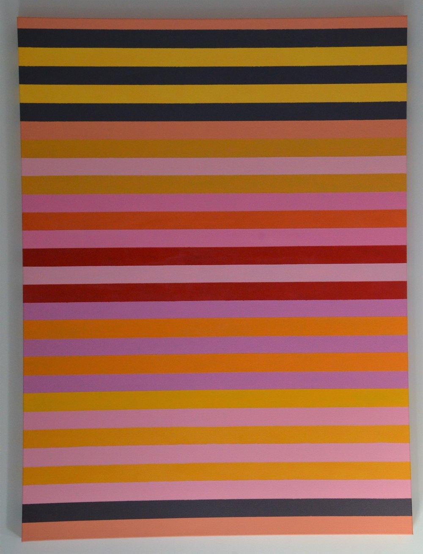 Christine Ruksenas-Burton Linear Equation #5 30 X 40 Acrylic on canvas, 2018 $1,200 .JPG