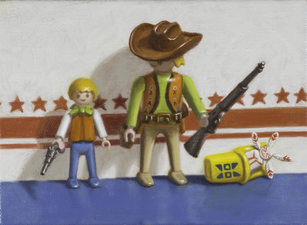 Cowboy  5_x7_ Oil on Canvas $635.jpg