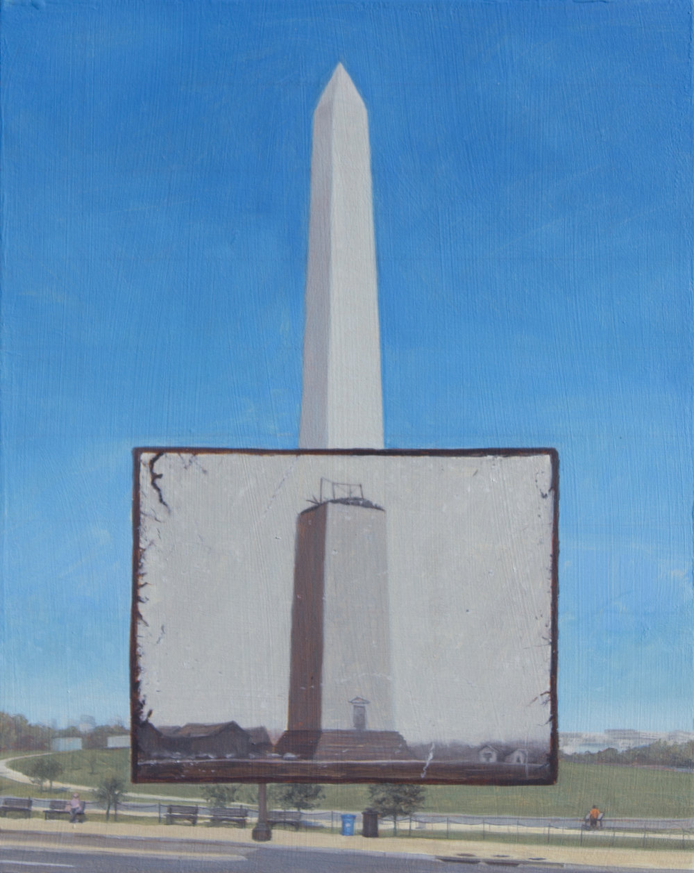 "Our Monument  10"" x 8"", Oil on panel $600.jpg"