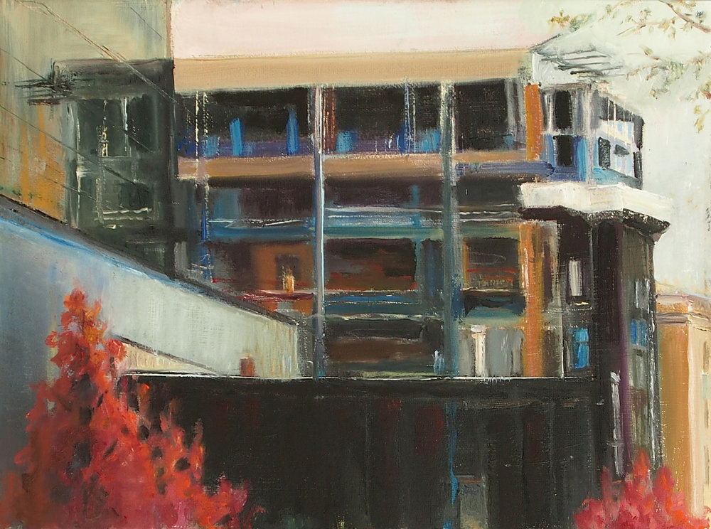 GalleryOonH-Cathy Abramson-Under Construction-2016-Oil on Canvas-9x12-550.jpg