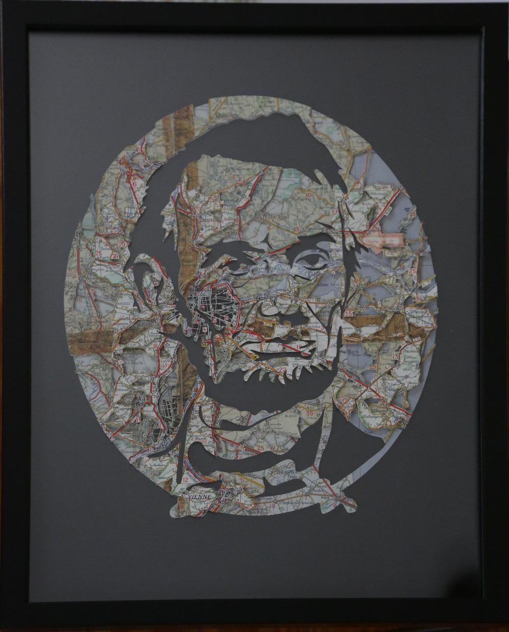 GalleryOonH-Joanathan Bessaci-Lincoln-2017-Michelin maps and glass-16x12-1100.JPG