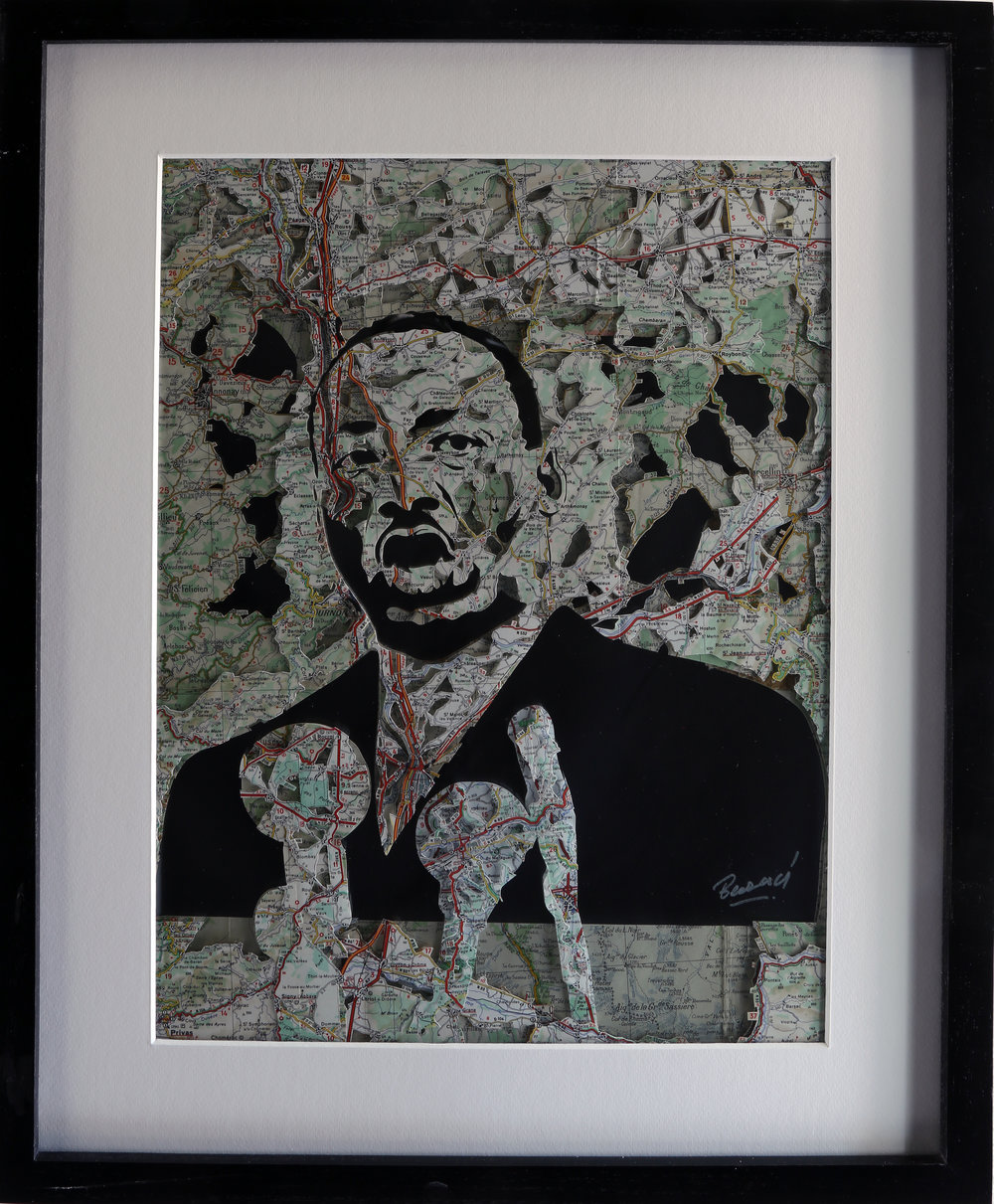 GalleryOonH-Joanathan Bessaci-MLK-2017-Michelin maps and glass-16x20-1400.JPG