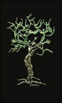 Zenith Gallery- Carol Newmyer- Tree of Life-2008-Bronze ed. 26-16h x 10w x 9d- $6,000.jpg