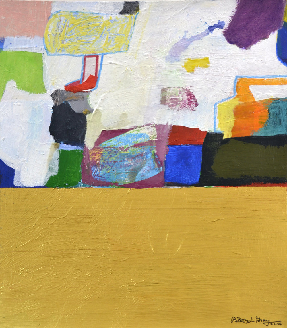 XOL Gallery - Peter Grey (USA) - _Fall Series II_ - 11 x 14 in - Acrylic on canvas paper - Baltimore, MD 2014 - $1,500.jpg