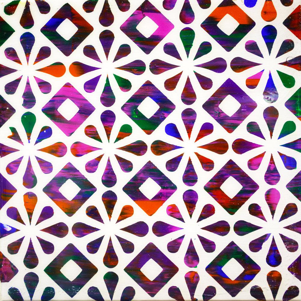 Stars and Diamonds - acrylic and artresin on wood panel - 8x8 - 250.jpg