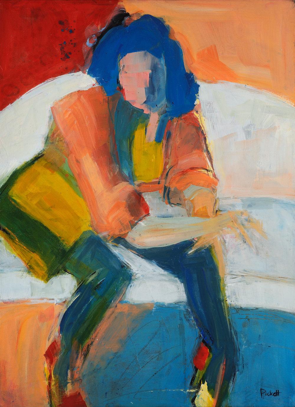 Foundry Gallery-Ann Pickett-Bee-30x22-Acrylic-2017-$1200.jpg