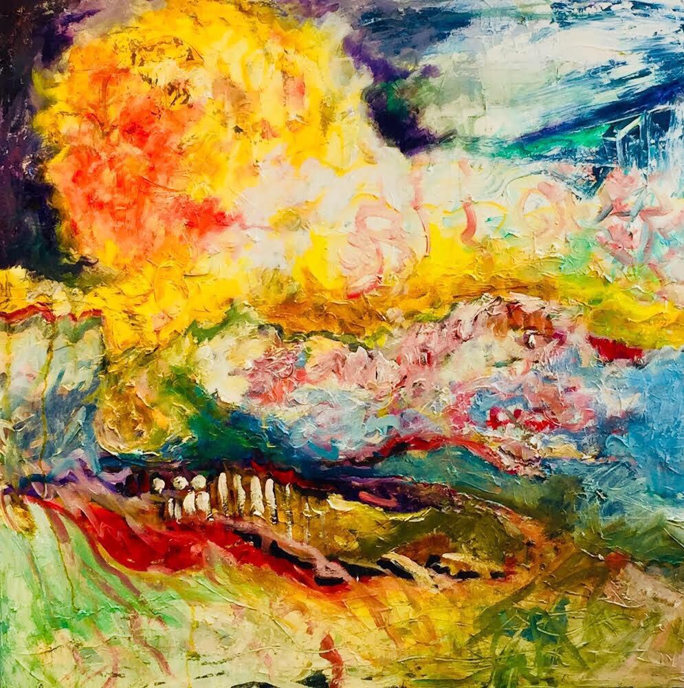 Foundry Gallery-Barbara Pliskin-Sun Series1-36x36-2017-$1000.jpg