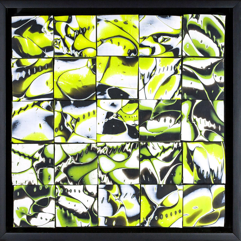 Foundry Gallery-Fran Abrams-Spring Snow-10x10- Polymer clay not painted-2017-$500.jpg