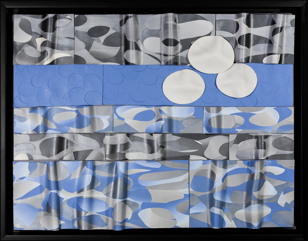Foundry Gallery-Fran Abrams-Weather Patterns-12x16-Polymer clay not painted-2016-$875.jpg