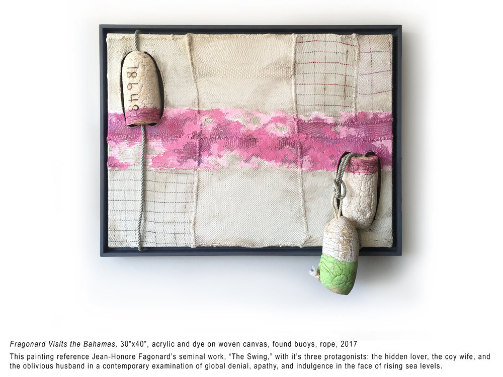 Kassewitz__Fragonard Visits the Bahamas__2018__30x40__acrylic and dye on woven canvas-found buoys-rope__$3300.jpg