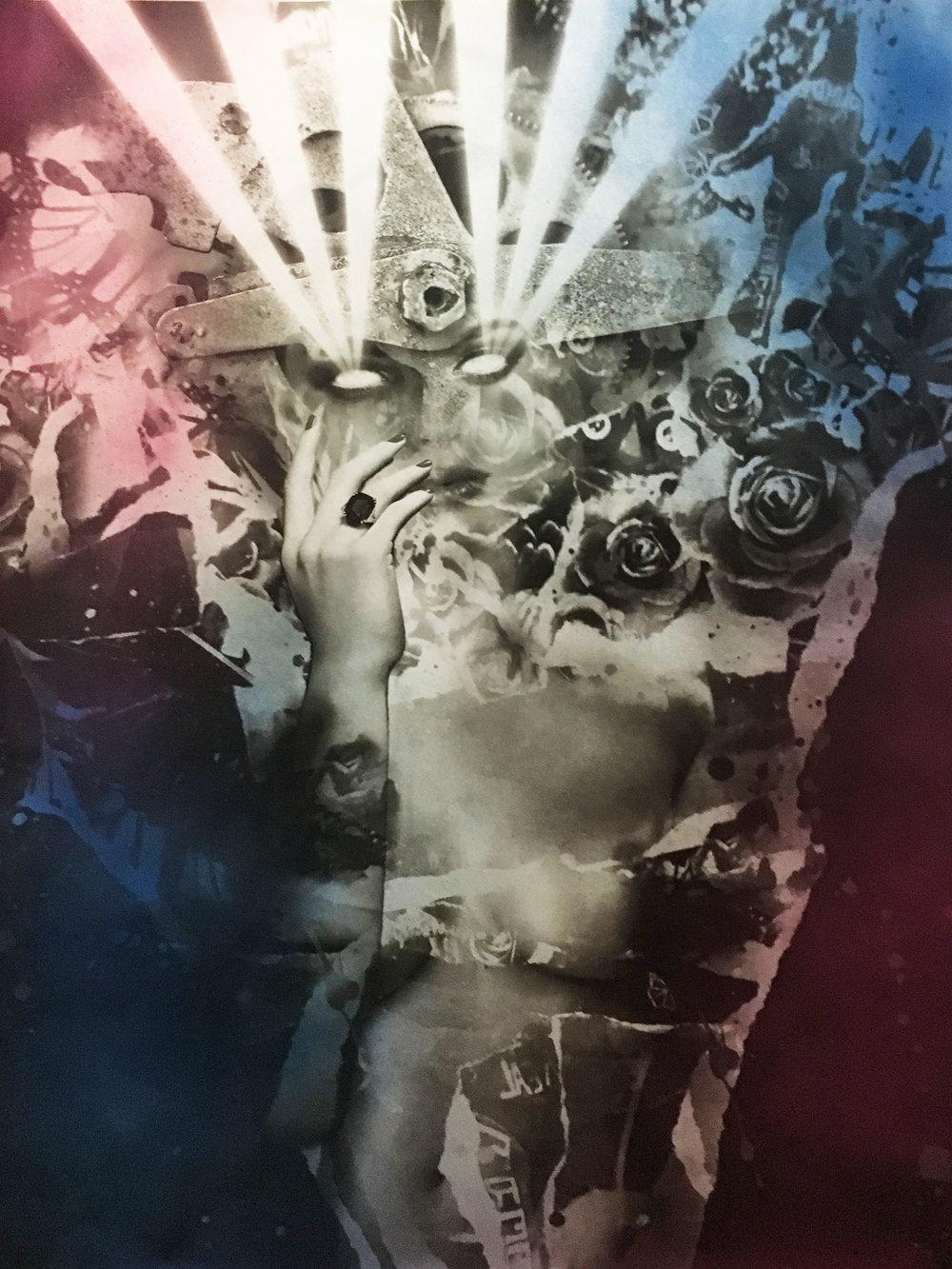 Rod Webber Untitled2 2018 Collage Mixed Media 30x40 $2000.jpg