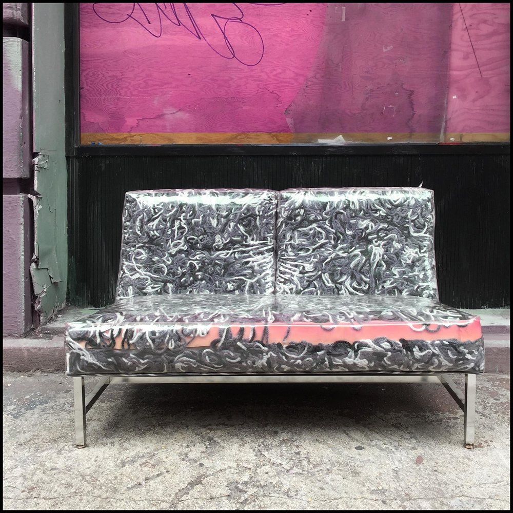 "Gail Garcia - ""PINKSOFA"" - Mixed Media on Aluminum - 30_x30_ - Edition of 10 - 2018 - $1650.jpg"