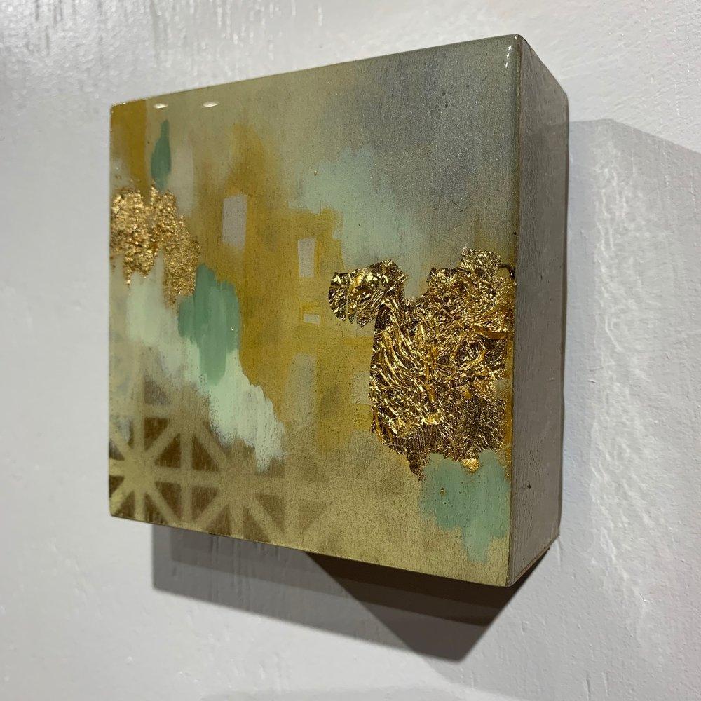 LeahGUzman_SolarplexusChakra_2018_resin,acrylic,goldleaf_$100.00.jpg