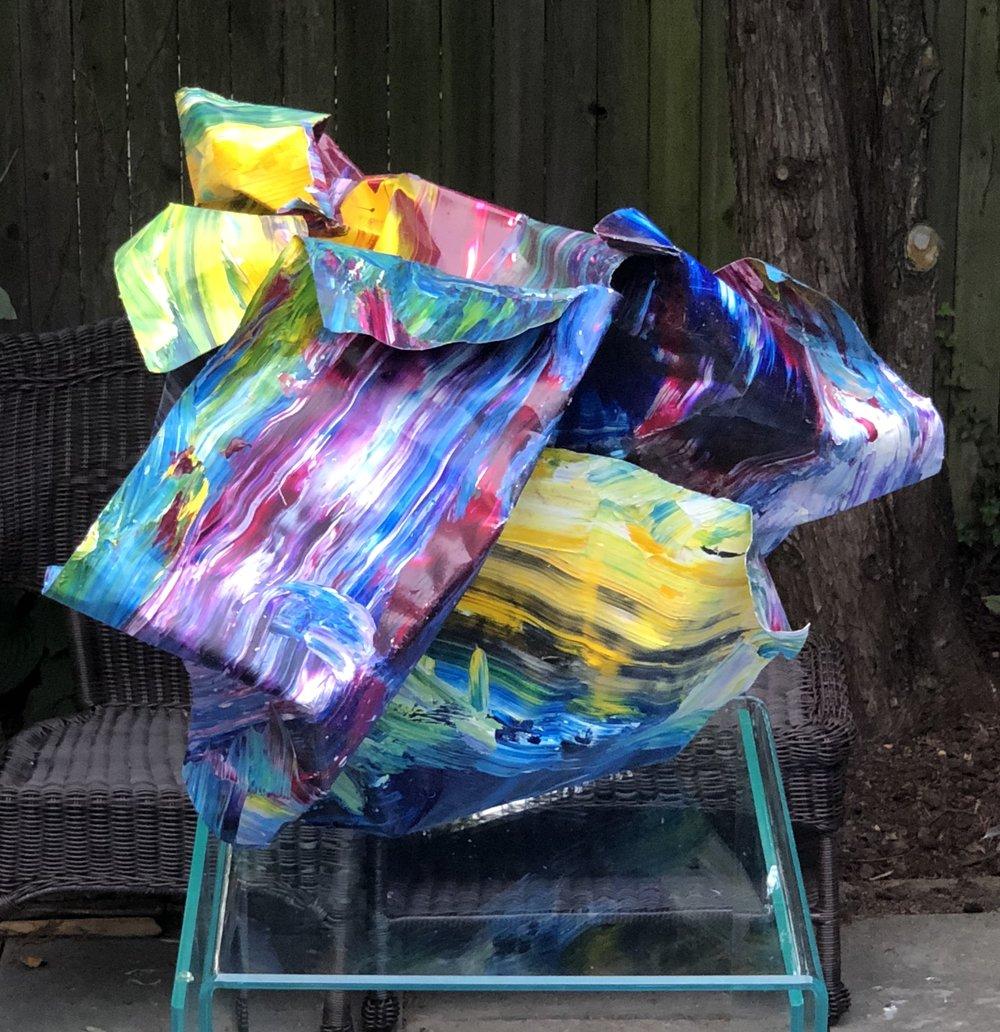 RogelioMaxwell-HoldOnTight-2008-AcrylicPaintOnAluminum-25x19x20-$5000.jpg