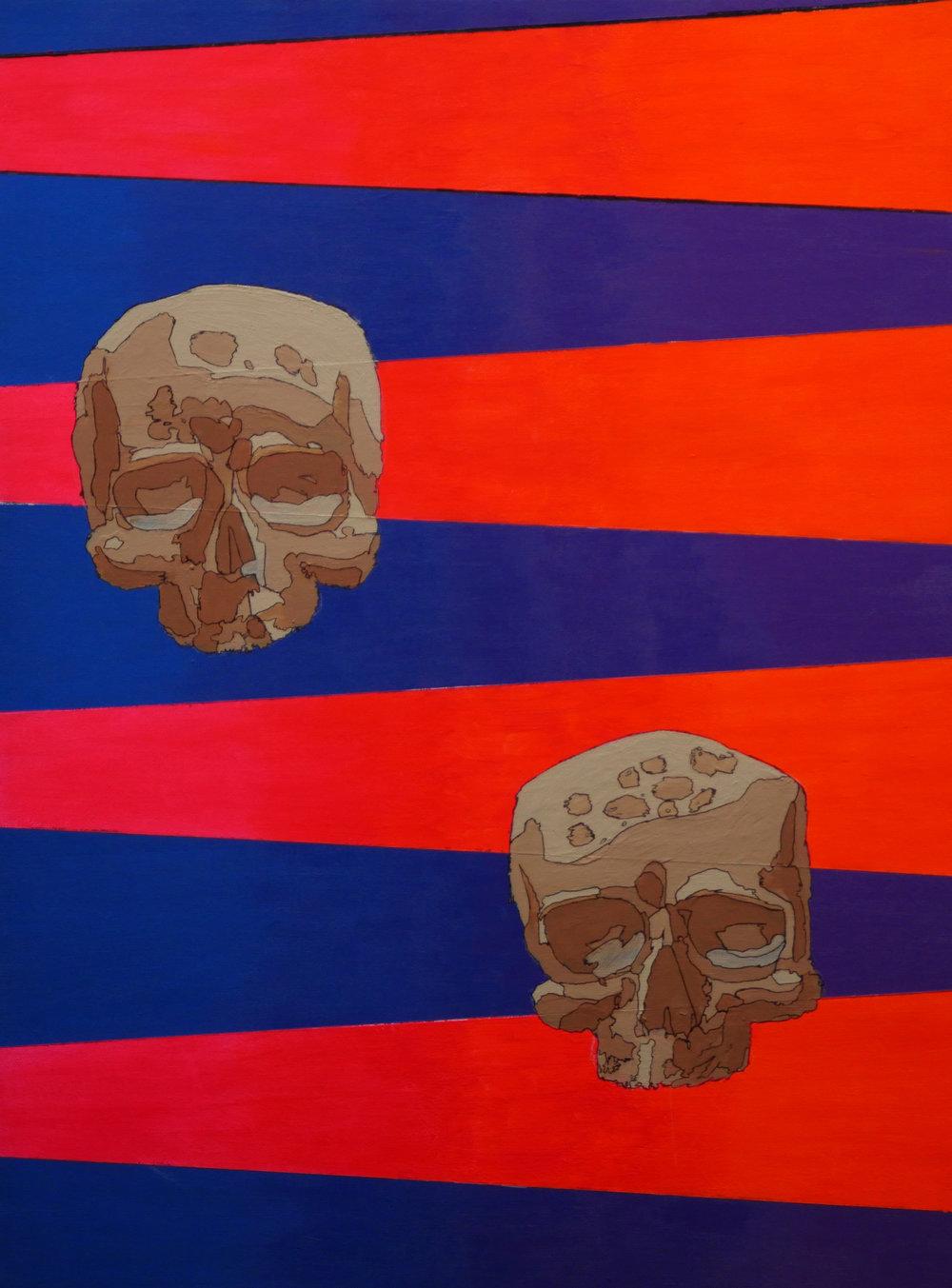 joaquin alonso- Dos Calaveras- Acrylic on canvas- 20x16- 2018-$1000.jpg