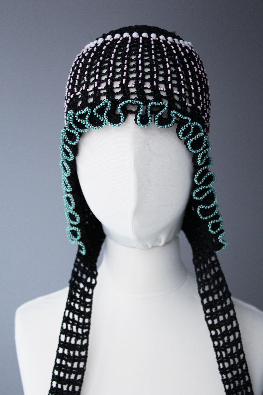 Rasa Vilcinskaite,35x35cm, textile and beads,1 piece, 2019, $230.jpg