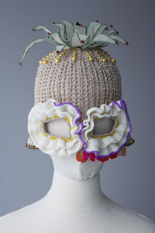 Rasa Vilcinskaite,35x35cm, textile and beads,1 piece, 2019, $505.JPG