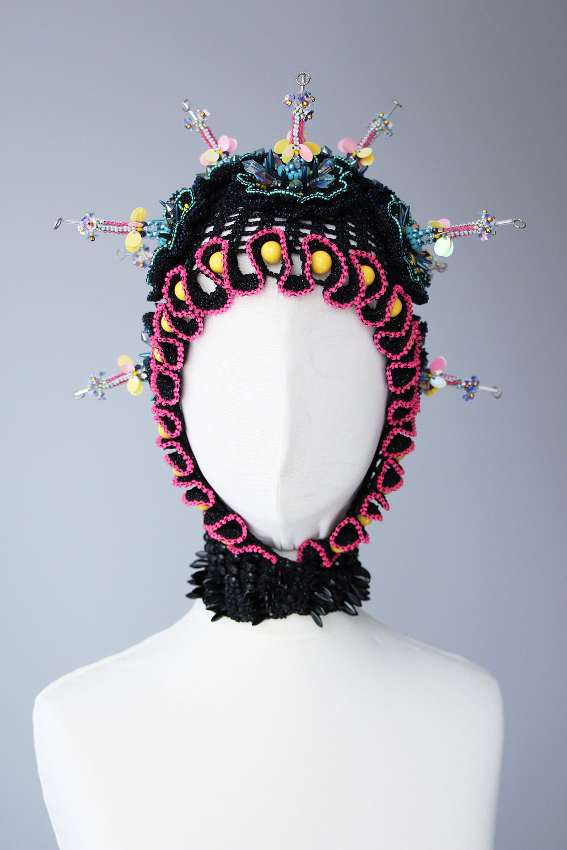 Rasa Vilcinskaite,35x35cm, textile and beads,1 piece, 2019, $1100.jpg