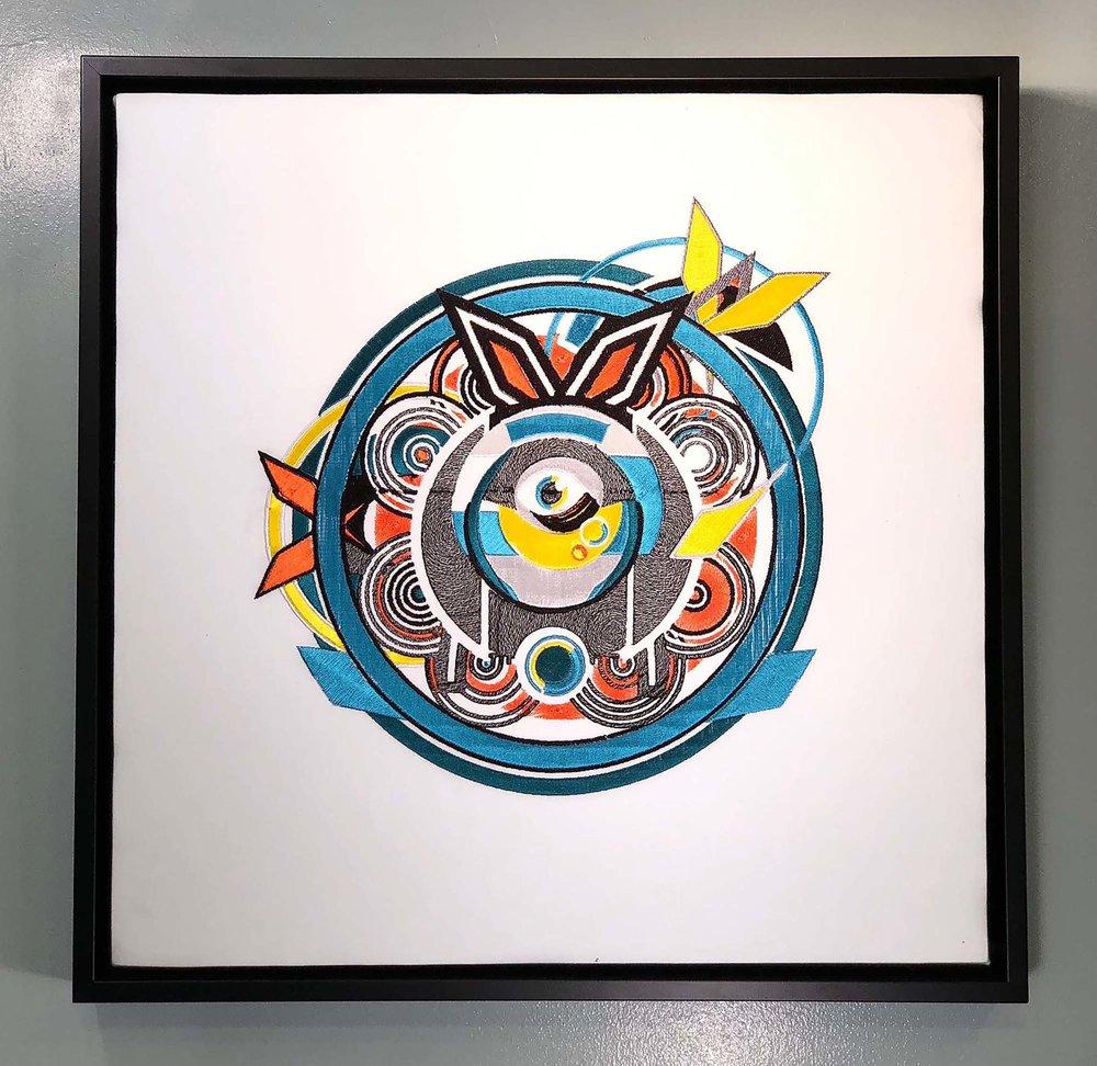 "BlairMCahill_Pachinko_embroidery_18"" X 18"" X 2""_2017_$800.jpg"
