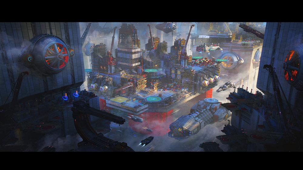 Haimeng Cao-City Rig System-2D-Digital Art-2018-200$.jpg