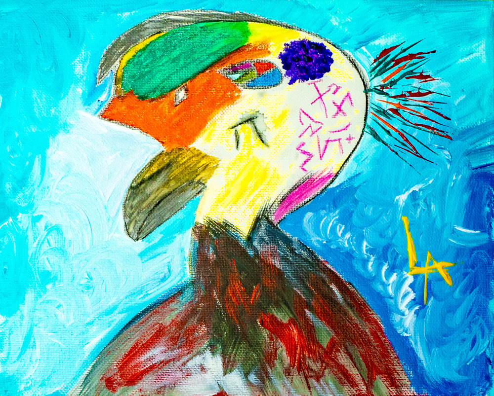 Louis Angel__Blue Sky__Watercolors_Acrylic_Resinic _8_x10_ Canvas_2019_$250.jpg