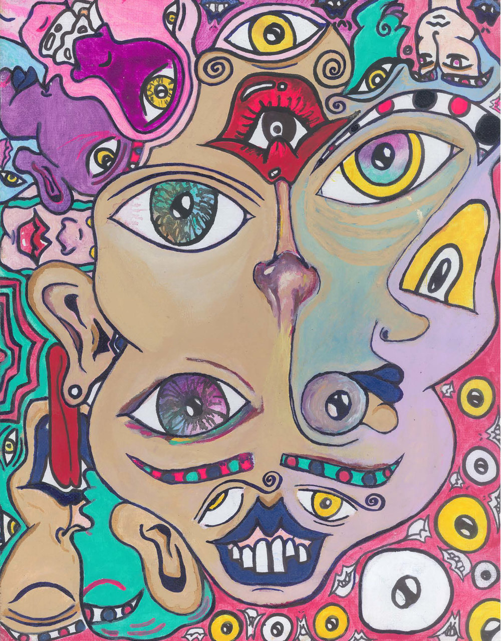 Mimi-Eye of the Beholder-Acrylic and Oil on Canvas-11x14-2018-$475.JPG