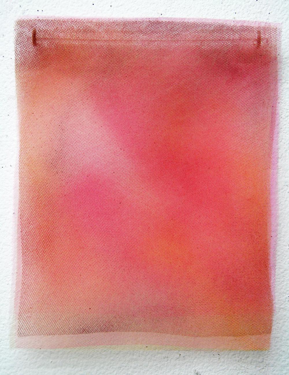 Breslaw,Pink Calm,12.75_x10.25_,layered transparent mesh,paint, 2014,$595.jpg