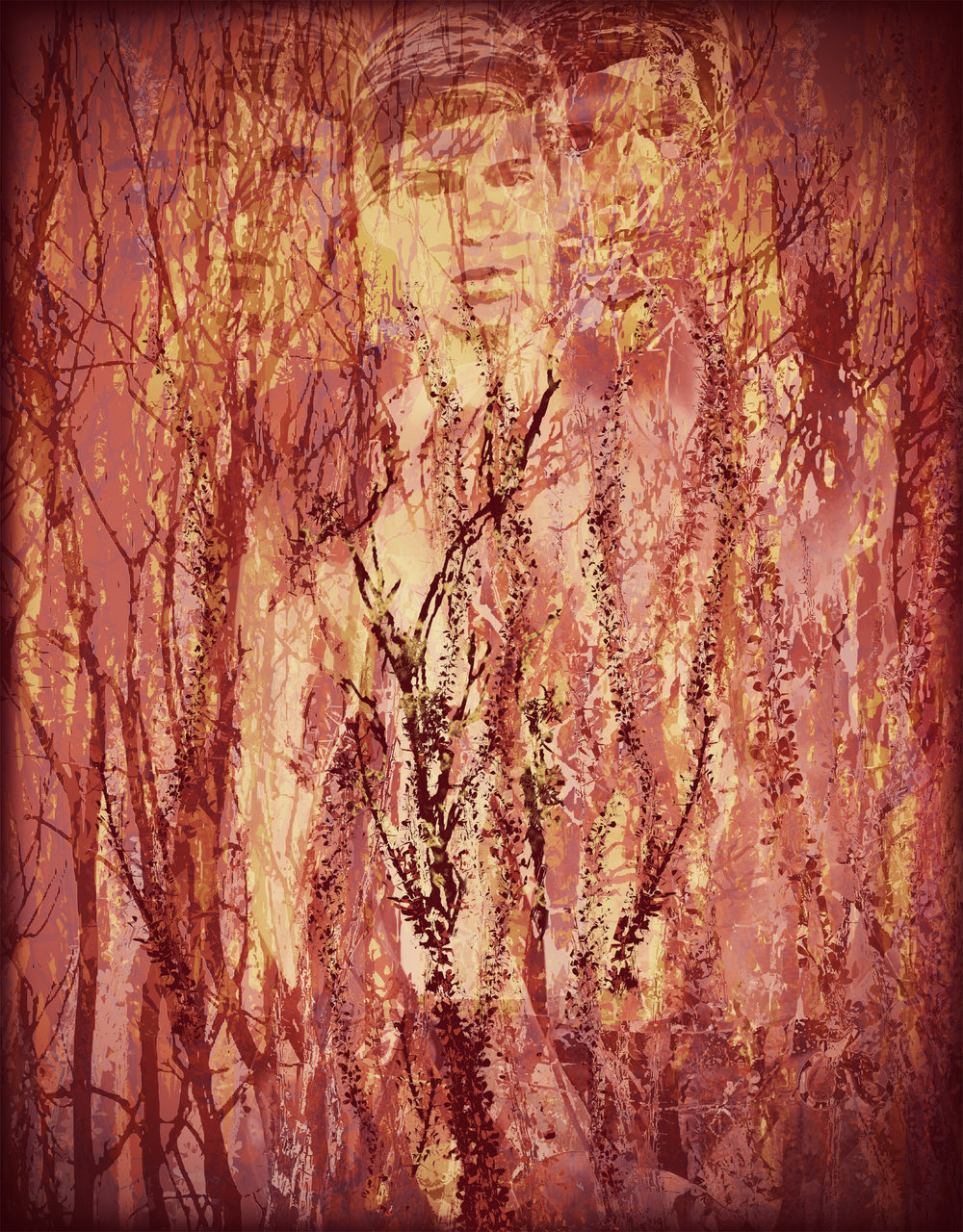 John Waiblinger-Golden Mirage-Digital Art on paper-14.5x19-Ed1of5-2018 -framed$675.jpg