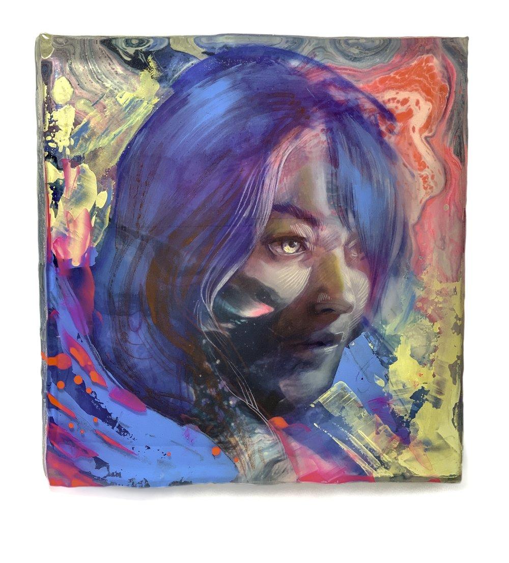 Marc Scheff - Amy - Acrylic Block Print - 6x6- Edition 20 -  2019 - $100.jpg
