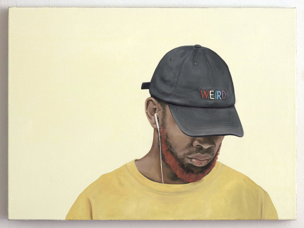 Helen Robinson-_Most Wonderful in his Half-Hidden Smile or Frown_-22x30 inches-Oil on Linen-2018-$3700.JPG