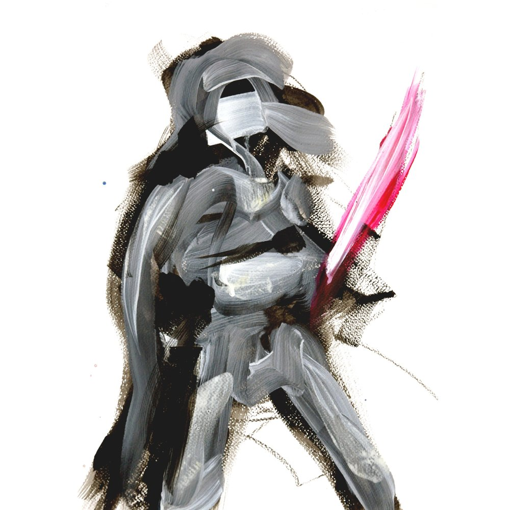05_Darth Vader_Acrylic on paper_40x30cm 600.jpg