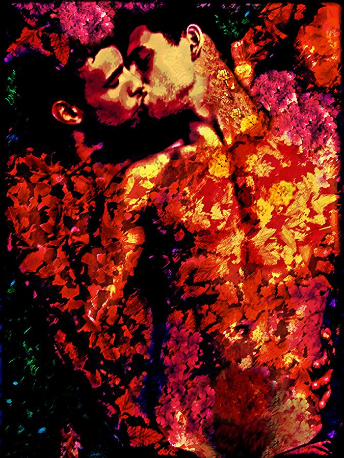 Holding Your Flower,  John Waiblinger