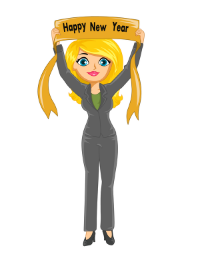 New Year Girl