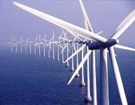 wind farm in the north sea