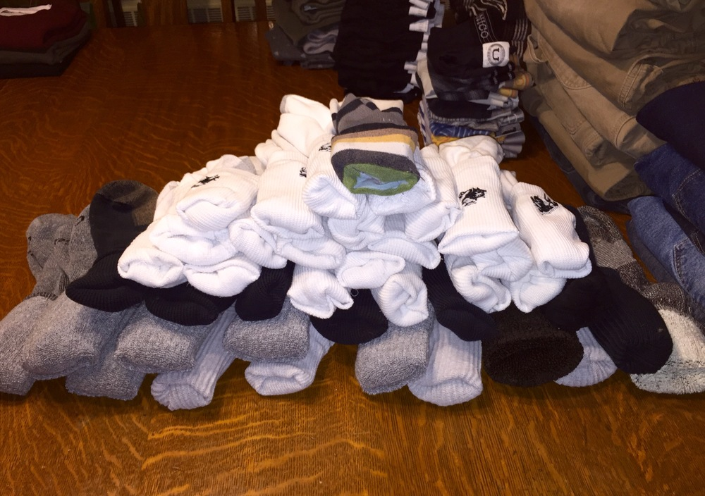 Step 3: Sock Pyramid