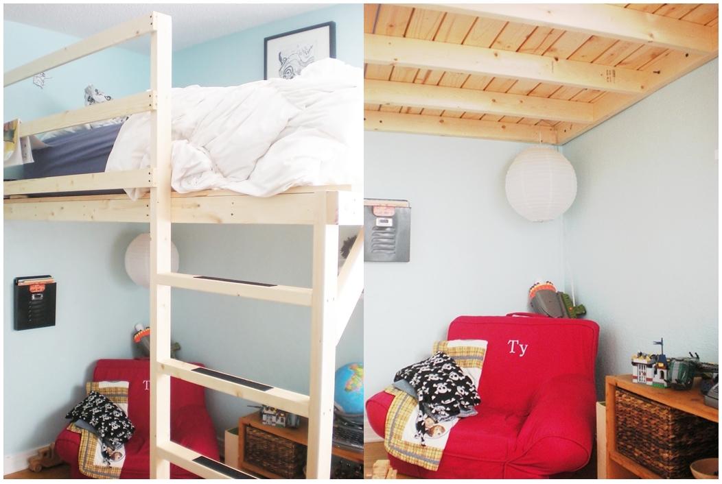 Handcrated loft bed