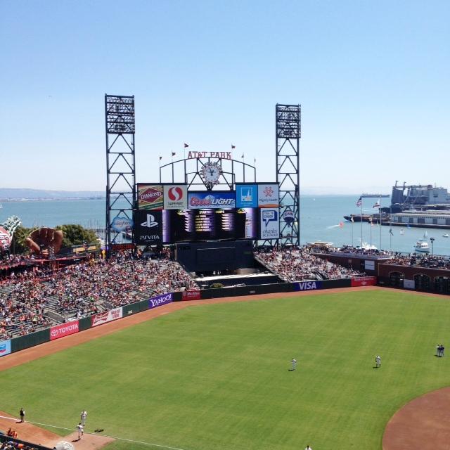 indobay summertrip San Francisco Giants Game