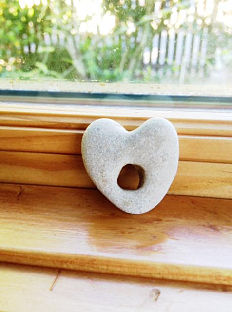 Heart stone by MedStoneBeach