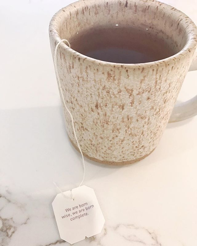 Tea reading 🙌 ... #yogitea