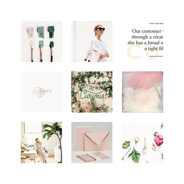 happy monday! a pretty mood board to kick off a brand + site design project. excited to bring this one to life! ✨