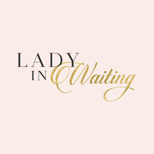 new logo + e-commerce site (coming soon) for lady in waiting / @erinadair. can't wait to share more! stay tuned! ✨