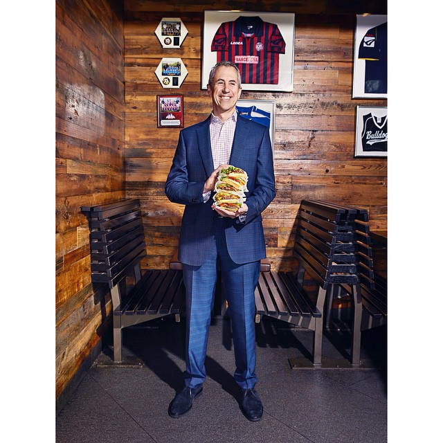 Danny Meyer(@dhmeyer), founder of Shake Shack (@shakeshack) and part of the TIME 100 (@time).  Whoa, burger!     Shot by Ian Allen (@ian_allen)    HOUSEtribeca.com  photo-retouching house      #photo #photoshoot #photography #photographer #ianallen #style #styling #stylist #model #entrepreneur  #dannymeyer #shakeshack #burger #food #retouch #retouching #housestudios #nyc #newyorkcity #editorial #design #designer #restaurant #dining #foodporn #time #time100 #empire
