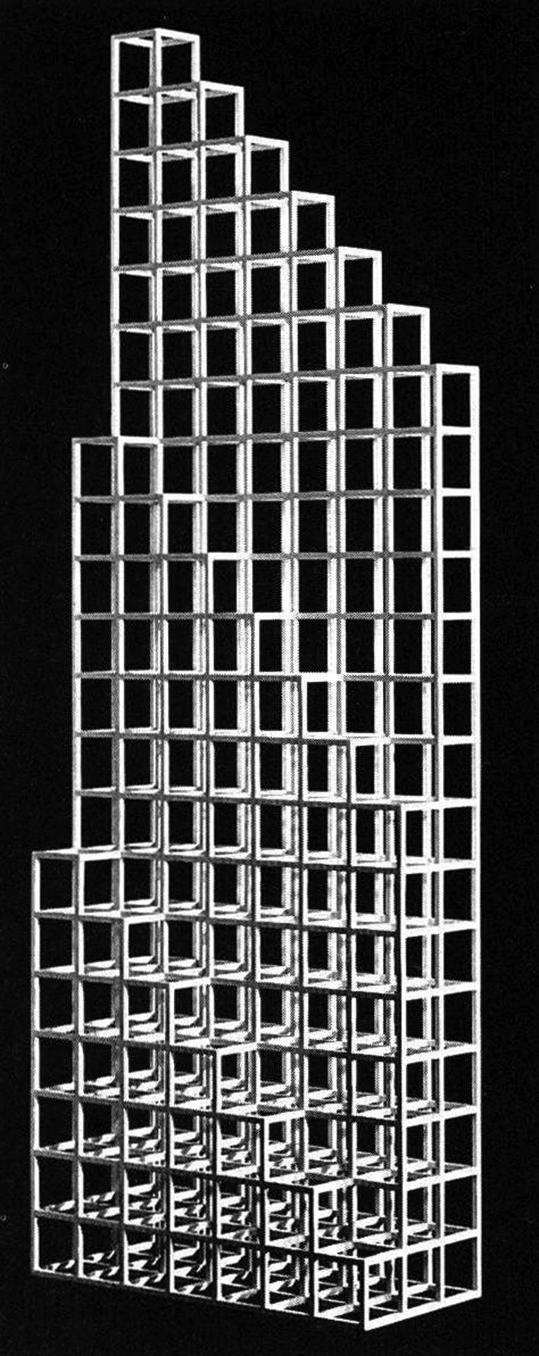 archiveofaffinities: Sol Lewitt, 21B, 1989
