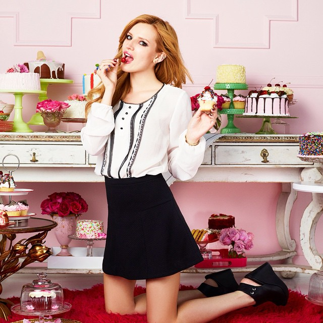Happy Valentine's Day!  Bella Thorn (@bellathorne) shot for Candie's (@candiesbrand).     HOUSEtribeca.com  photo-retouching house    #valentines #valentines-day #housestudios #house #editorial #pink #bellathorne #candies #kohls #cadiesfavoritethings #patries #pastel #photoshop #photography #photoshoot #cake #food #yum #foodporn #sweets #roses #fashion #fashionshoot